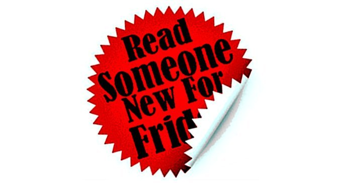 Read Someone New For Friday